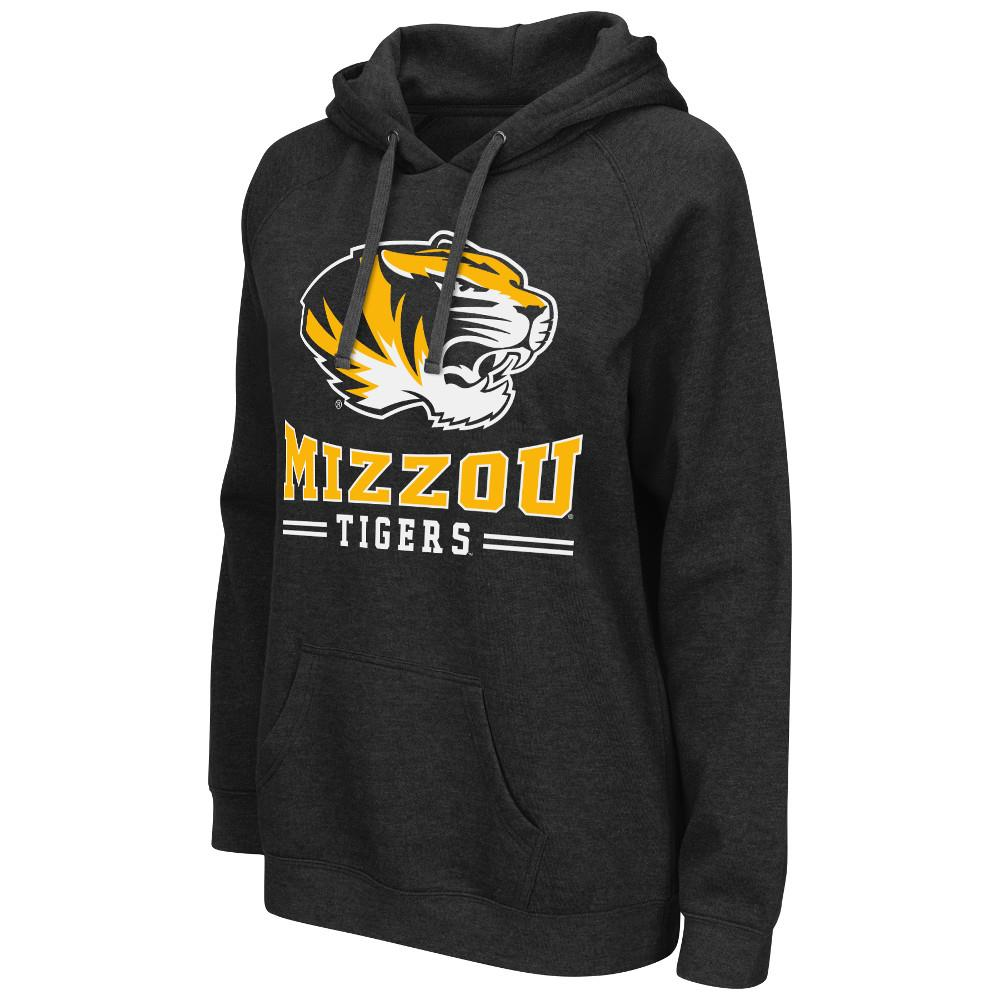Womens NCAA Missouri Tigers Pull-over Hoodie (Team Color)