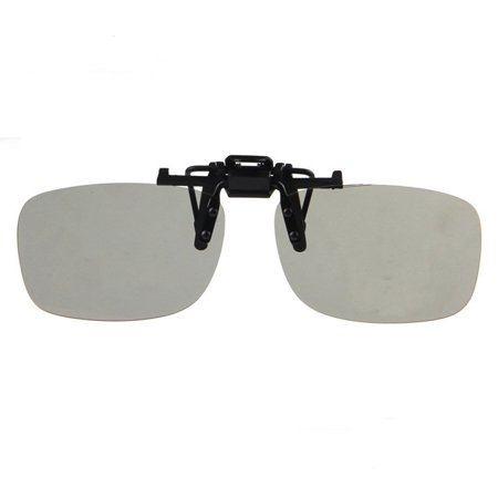Circular Polarized Clip on 3D Glasses for RealD Best Performance and fit available, 1 Pair Circular Polarized Clip On Glasses for Passive 3D.., By (The Best 3d Glasses)