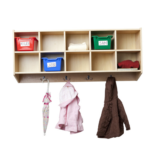 ECR4Kids 10 Compartment Cubby