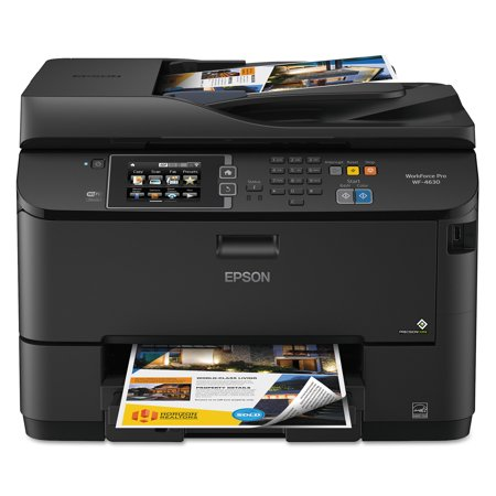 Epson Workforce 4630 Wireless All In One Inkjet Printer  Copy Fax Print Scan