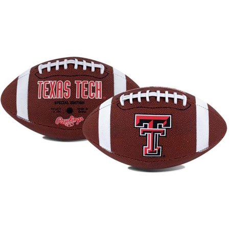 Texas Tech Red Raiders Rawlings Game Time Full Size Football Team Logo