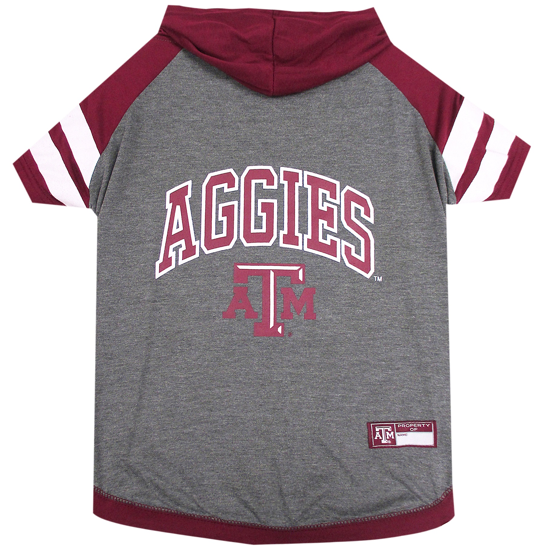 Texas A&M University Doggy Hooded Tee-Shirt