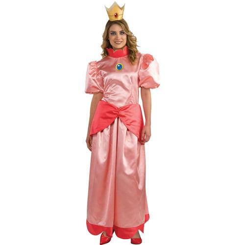 Mario Bros. Princess Peach Adult Halloween Costume