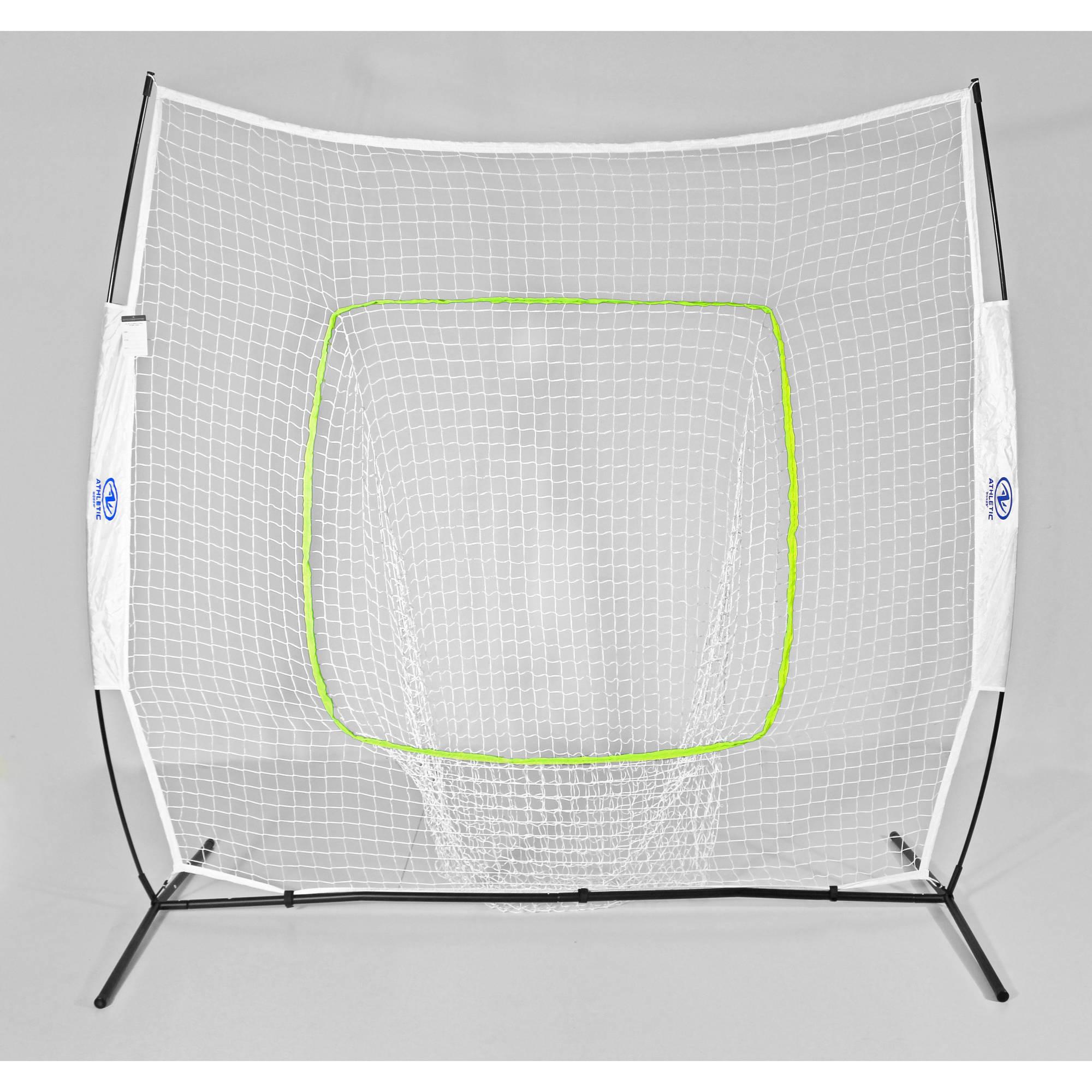 Athletic Works 7' x 7' Baseball & Softball Instant Training Net