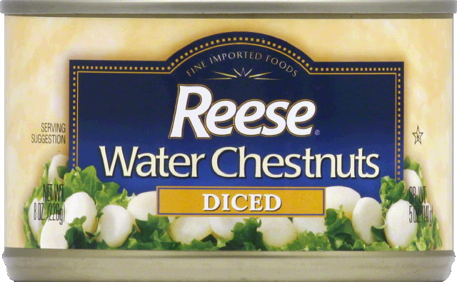 Reese Water Chestnuts, Diced by REESE