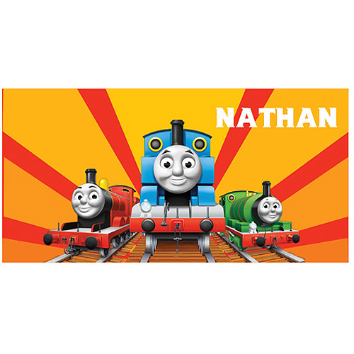 Personalized Thomas & Friends Sunset Beach Towel