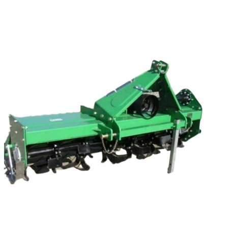 Rotary Tiller TL-135 Width 53  Offsetable with PTO Shaft 3 Pt Cat 1 Linkage for Tractors with 22-35 HP and Cat 1 - 3 Pt Hitch TL-135 53  Offsetable Rotary Tiller (Green) - Product Features / Specifications: Working Width - 53  Overall Width - 60  - Tiller has Category 1 - 3-Point Linkage and PTO shaft (your tractor must have a Cat 1 3 Point hitch) - Works with all Tractors 22-35 HP range with a Category 1, 3-Point Hitch - Max HP Gearbox - 35 HP - Standard Tine Rotation: Yes - Number of Flanges: 7 - Number of L Shaped Tines: 28 - Drive Type: #80 Chain - Double Walled Housing: 1/4  - Rotor Swing Diameter: 14  - Adjustable Tilling Depth: 2  - 6  - 10  Adjustable Offset Distance Center to Right - Driveline Type 540rpm PTO - Series 4 1-3/8  SPL w/QD x 1-3/8  SPL w/ Slip Clutch - Product Weight: 425 pounds - Shipping Weight: 455 pounds (shipped crated in wood) - Condition: New In Factory Sealed Box - Color - Green - 2 Year PARTS Warranty Included - IN STOCK AND SHIPS FAST! SORRY, No Shipping to any Island location off the Mainland, USA, such as the FL Keys.