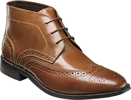 Men's Nunn Bush Nichols Wingtip Chukka Boot by
