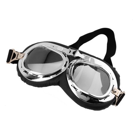Hot Anti-UV Safety Motorcycle Scooter Pilot Goggles Helmet Glasses Motocross - image 5 of 9