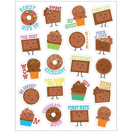 CHOCOLATE STICKERS SCENTED (Chocolate Lab Sticker)