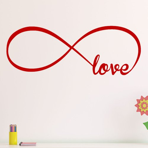 Decal the Walls Infinity Symbol Love Wall Decal