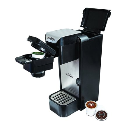 Mr. Coffee BVMC-SC100 Single-Cup Coffeemaker Silver/Black