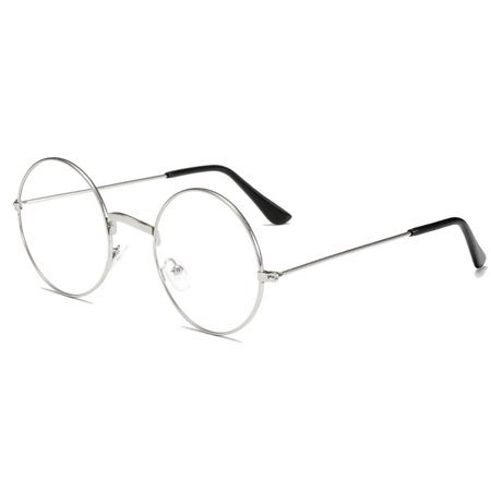 Fashion Plain Glasses Frame Round Metal Frame Optical Eyeglasses Frame - image 3 of 6