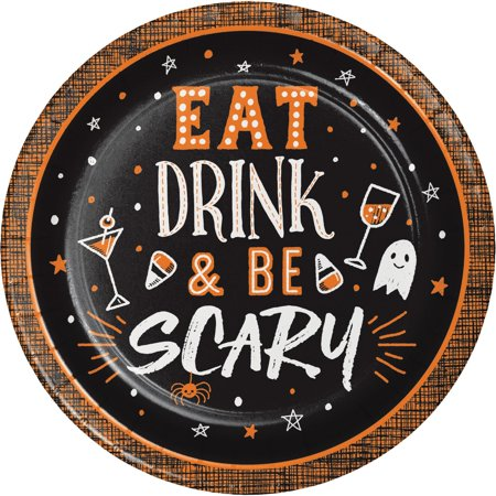 Kid Friendly Halloween Drinks (Halloween Happy Hour Eat Drink & Be Scary 8 Ct 6.75