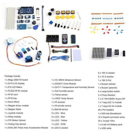 DIY Mega 2560 Starter Kit for Arduino1602LCD RFID Relay