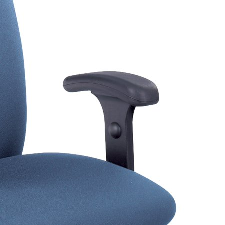 Safco Tpad Arms (Safco 3496BL Seating Accessories Optional T-Pad Arms for Uber Big and Tall (Set) )