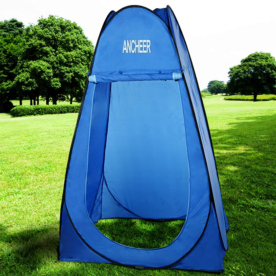 Ancheer Blue Portable Privacy Shelter Toilet Shower Changing Room Tent Camping Beach... by