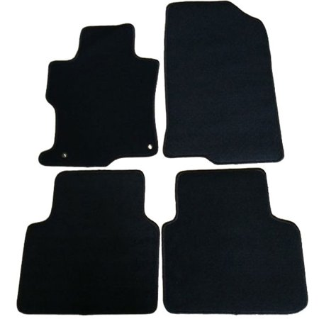 Fits 08-12 Accord 2Dr 4Dr OEM Factory Fitment Car Floor Mats Front Rear Nylon