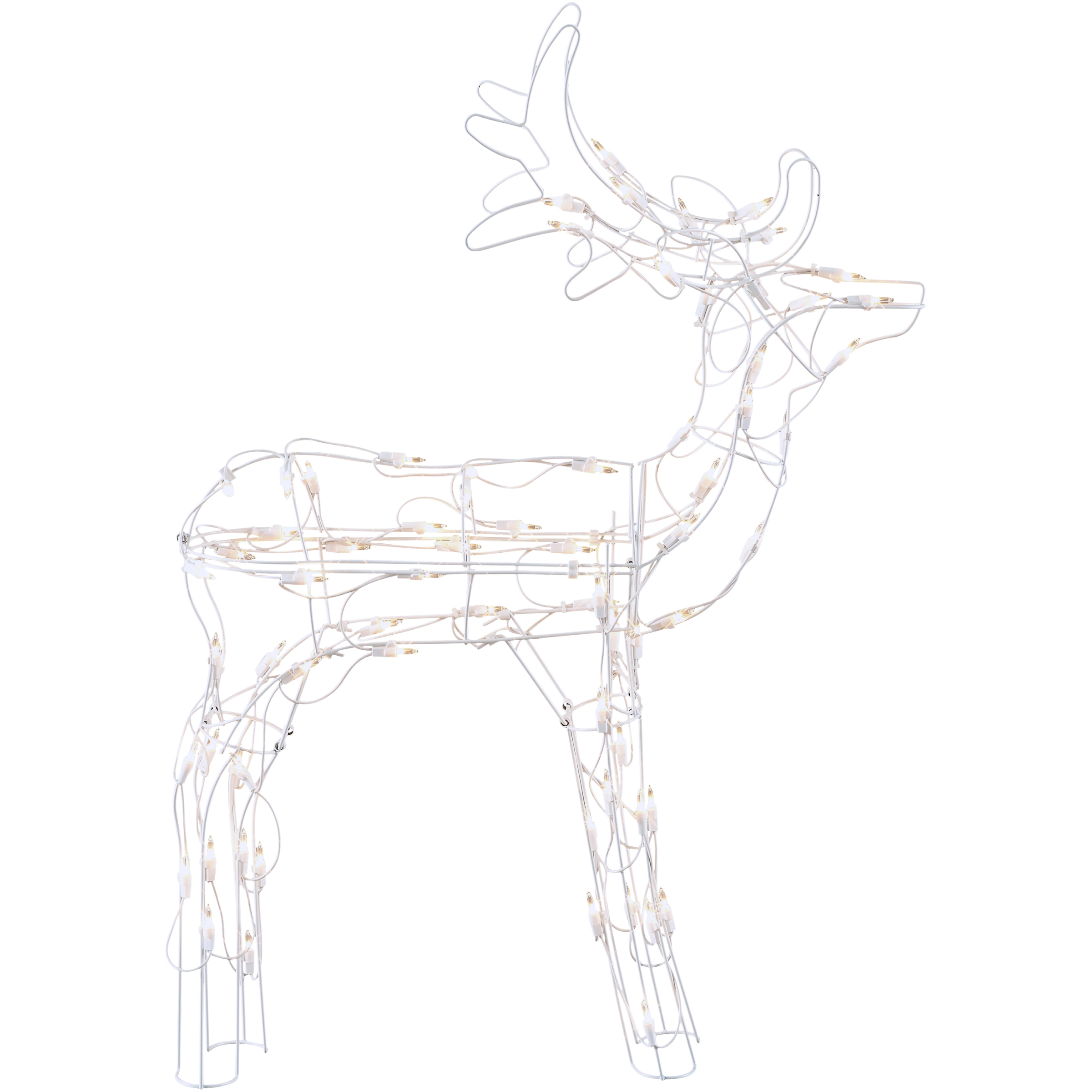 Holiday Time 30 in. Light-Up Buck 70 Lights Indoor or Outdoor Use
