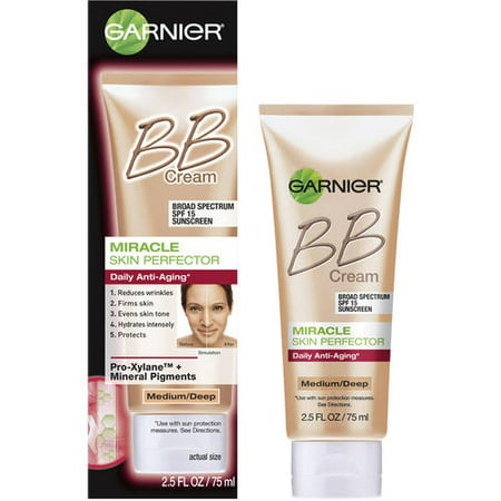 garnier skin renew miracle skin perfector anti aging bb cream medium deep 2 5 fl oz. Black Bedroom Furniture Sets. Home Design Ideas