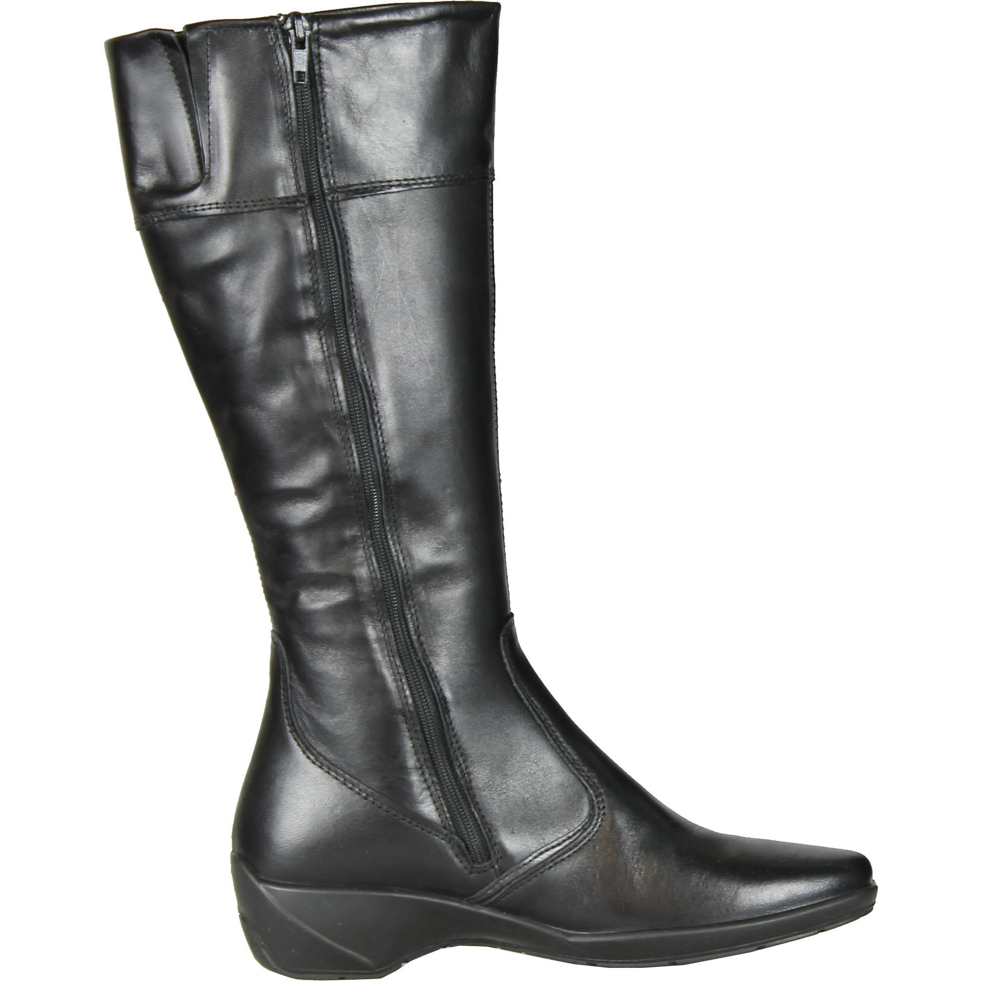 IMAC Womens 52368 Fashion Leather Boots Made In Italy, Black., 36