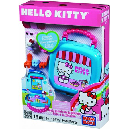 Mega Bloks Hello Kitty Pool Party