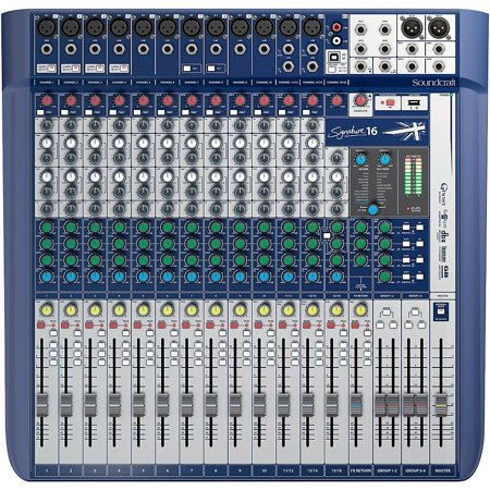Soundcraft Soundcraft Signature 16 - 16 Channel Mixer