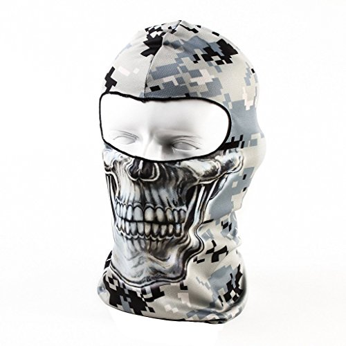 Your Choice Motorcycle Cycling Balaclava Thin UV Protective Sports Ski Face Mask � Camo by CISNO