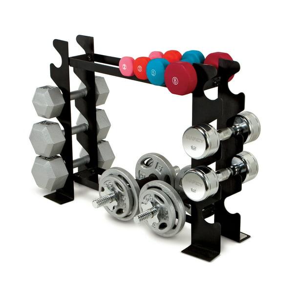 Marcy Dumbbell Weight Rack DBR56 - Walmart.com - Walmart.com