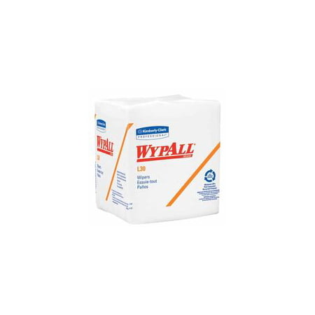Task Wipe Light Duty WypAll L30 Disposable 12 X 12.5 Inch Case of - Wypall L30 Wipes