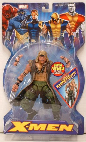 Marvel X-Men Ultimate Sabretooth Action Figure by