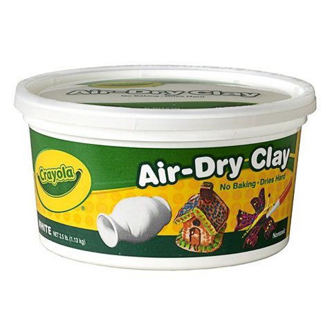 Crayola Air Dry Clay, White, No Bake Clay, Great for Kids, 2.5lb by Crayola LLC