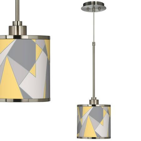 (Modern Mosaic Ii Giclee Glow Mini Pendant Light)
