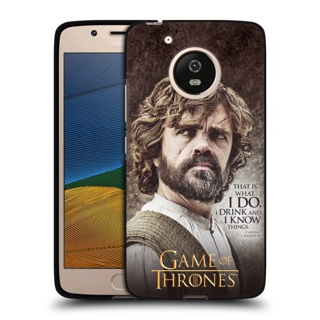 Moto Throne (OFFICIAL HBO GAME OF THRONES CHARACTER QUOTES BLACK SOFT GEL CASE FOR MOTOROLA)