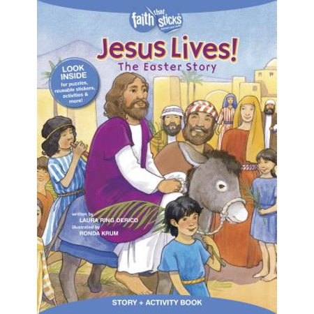 Jesus Lives! The Easter Story, Story + Activity Book - The History Of Easter