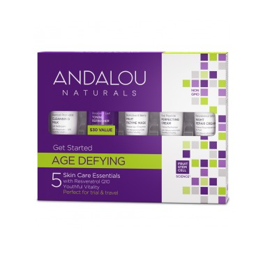 Age Defying Get Started Kit Andalou Naturals 5 pc Kit