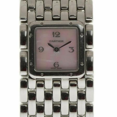 Cartier Panthere De Cartier W61003T9 Steel Women Watch (Certified Authentic & Warranty)