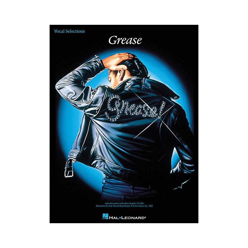 Hal Leonard Grease arranged for piano, vocal, and guitar (P/V/G)