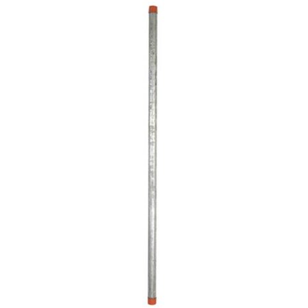 Ace 10520 0.75 in. x 36 in. Galvanized Pre-Cut Pipe - image 1 of 1