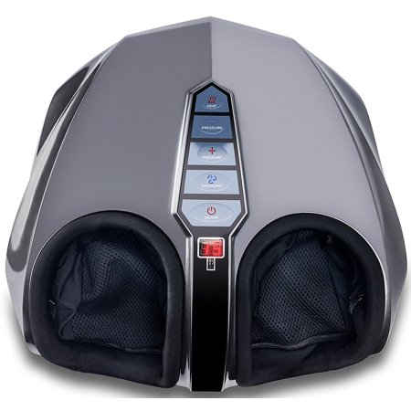 Miko Shiatsu Foot Massager Kneading/Rolling With Switchable Heat And Pressure Settings - Includes 2 Remotes (New
