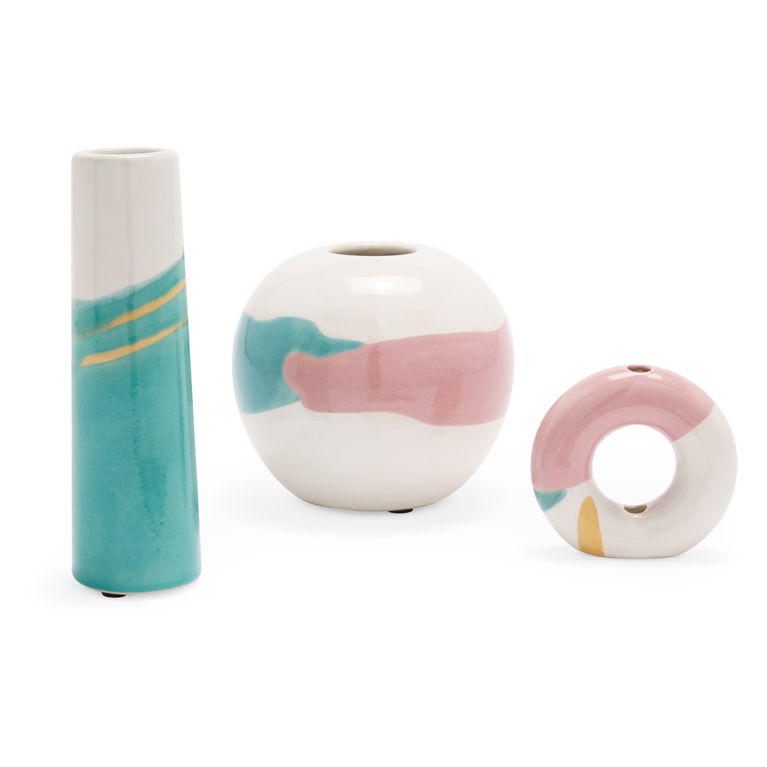 Abstract Vase Set of 3 by Drew Barrymore Flower Home