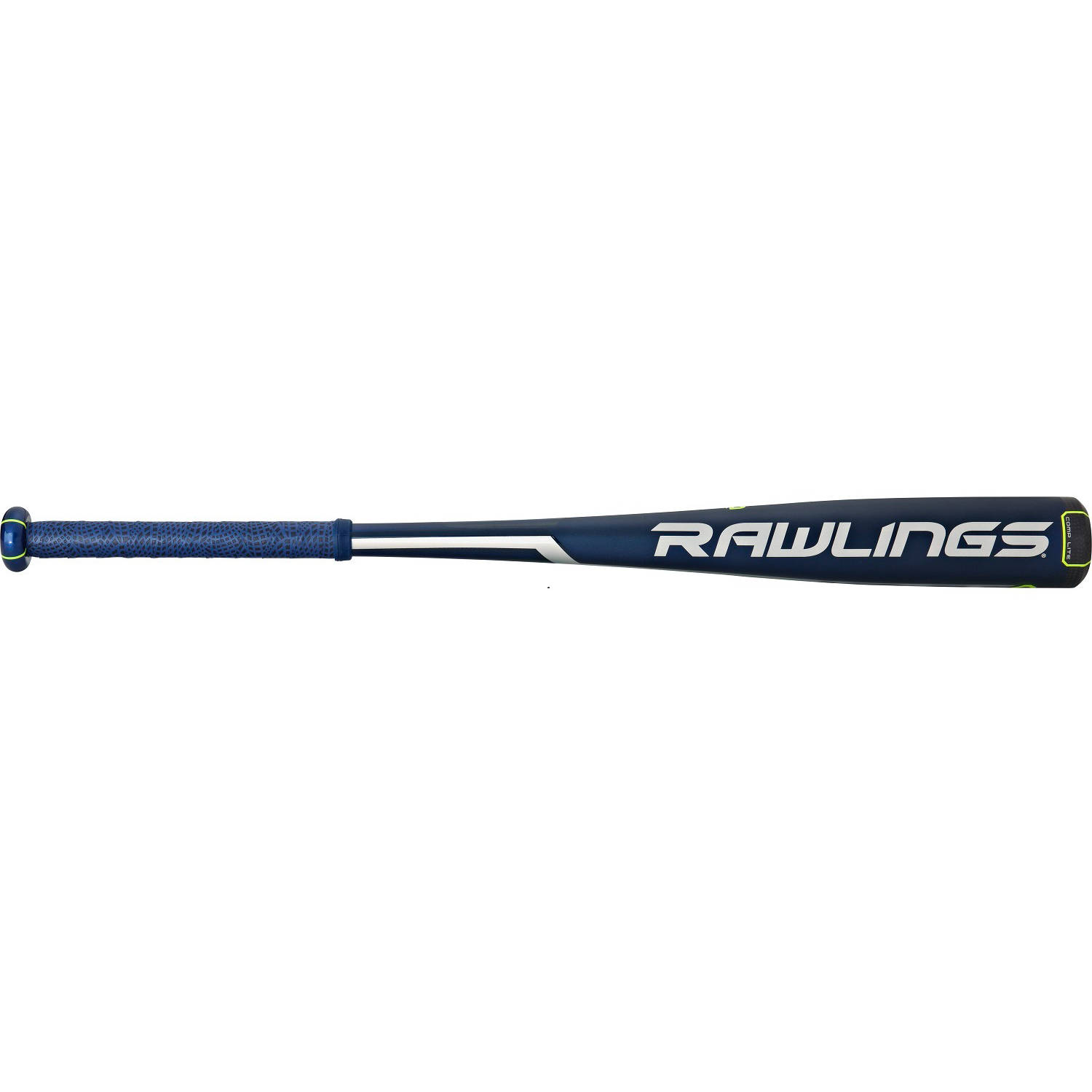 "Rawlings Senior League Velo Alloy -10 / -5 Bat (-10) NAVY/MULTI-COLORED 29"" / 19OZ. (-10)"
