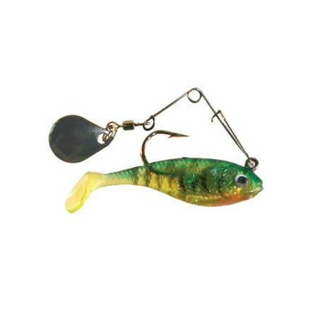 Creme lure ssb203s firetiger 2 spoiler shad lure w for Walmart fishing spinners