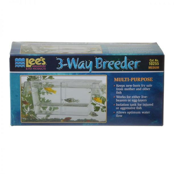Lees 3 Way Breeding Tank 6 75 L X 3 W X 3 H Walmart Com Walmart Com