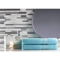 Freshee (2) Piece Bath Towel Set - White - Featuring INTELLIFRESH™ Technology