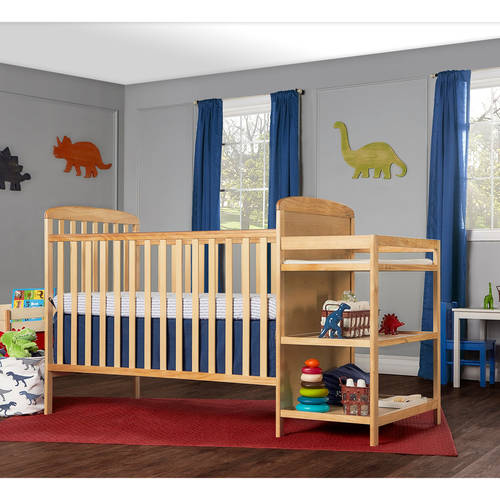 Dream On Me Anna 2 In 1 Full Size Crib And Changing Table