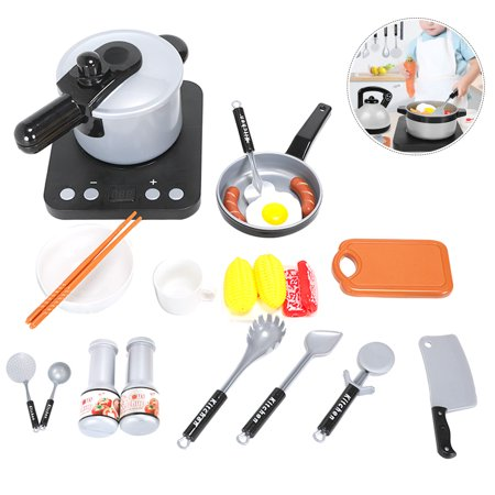 24Pcs Kids Kitchen Pretend Play Toys, Cooking Set, Pots and Pans, Cookware  Playset, Healthy Cutting Vegetables, Knife, Utensils, Learning Toy Gifts ...