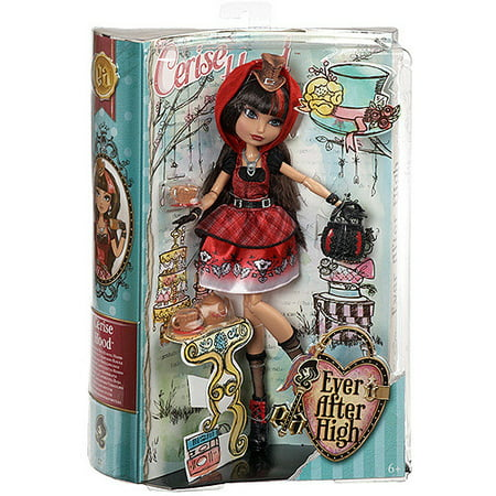 Ever After High Hat-Tastic Cerise Hood Doll (Discontinued by manufacturer) - Ever After High Cerise Wolf