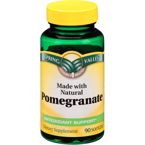 Spring Valley Pomegranate Softgels, 90 count
