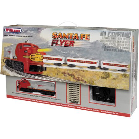 Bachmann Williams O Scale Santa Fe Flyer Train Set (Santa Fe Zoo Halloween)